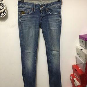 Light Blue G Star Raw Jeans